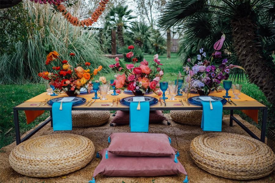 UNA MÁGICA BODA ALADDIN aladdin-decoracion-mesa