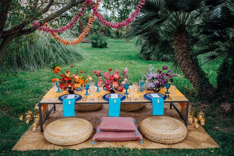 UNA MÁGICA BODA ALADDIN decoracion-mesa-aladdin