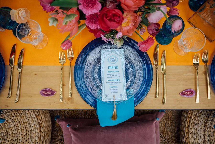 UNA MÁGICA BODA ALADDIN decoracion-mesa-boda