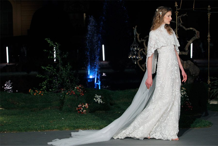 MARCHESA PROTAGONIZA LA BARCELONA BRIDAL NIGHT desfile-marchesa-bridal-week