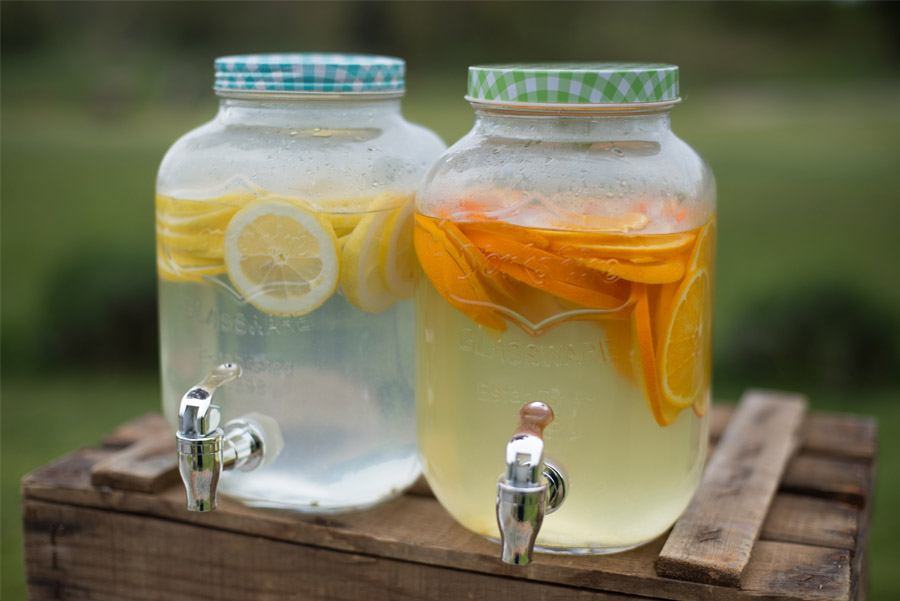 ELI & JOAN: UNA BODA DE FIESTA MAYOR limonada-boda