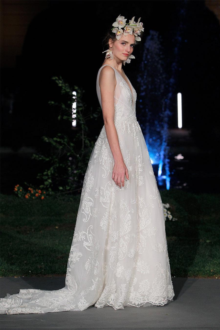 MARCHESA PROTAGONIZA LA BARCELONA BRIDAL NIGHT novia-marchesa