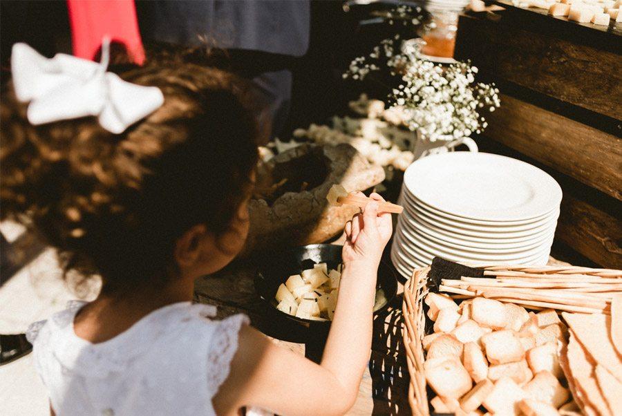 ELENA & JUANMA: EL SUEÑO DE UN AMOR DE VERANO boda-catering