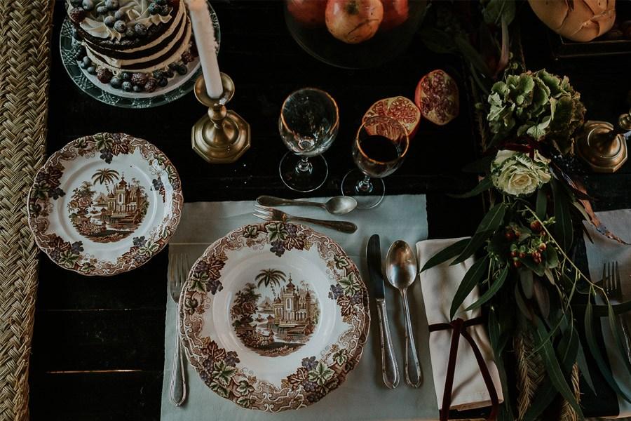LAS COSAS DEL QUERER boda-mesa