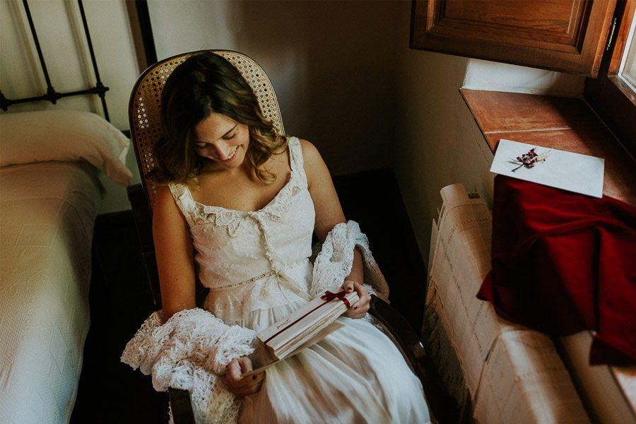 LAS COSAS DEL QUERER carta-novia