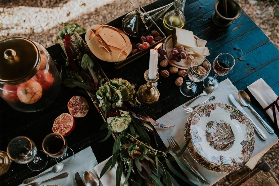 LAS COSAS DEL QUERER mesas-boda