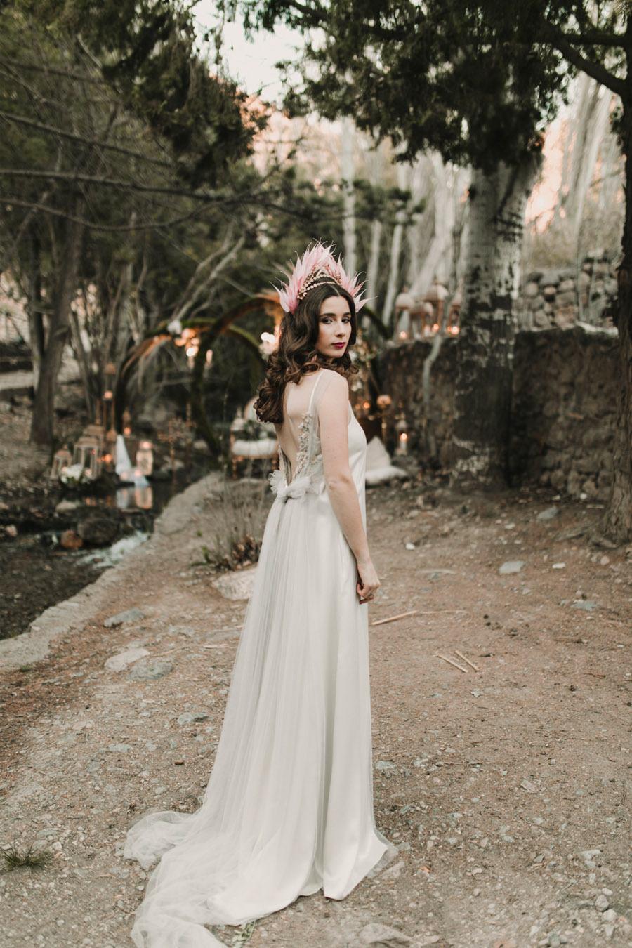 NOCHE DE LUCIÉRNAGAS novia-vestido