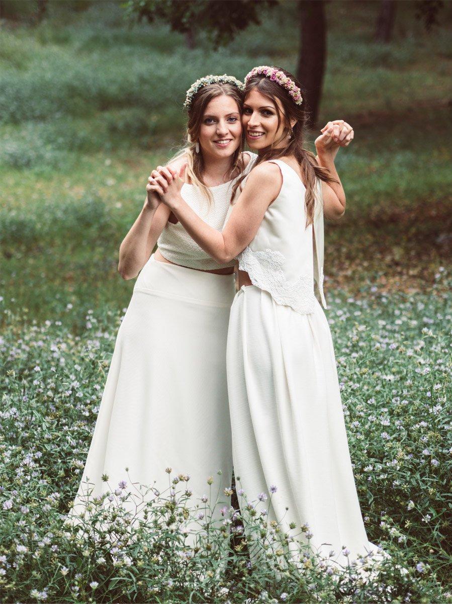 HANAMI vestido-novia