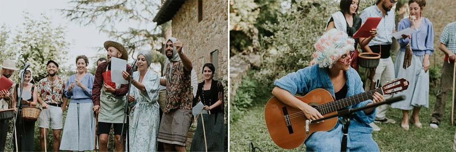 ELISABET, ALBERT Y SU DIVERTIDA BODA DE FIESTA MAYOR actuaciones-boda