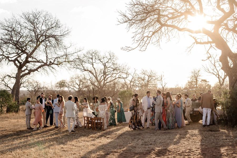 VALENTINA & OMAR: SAFARI WEDDING boda-aperitivo