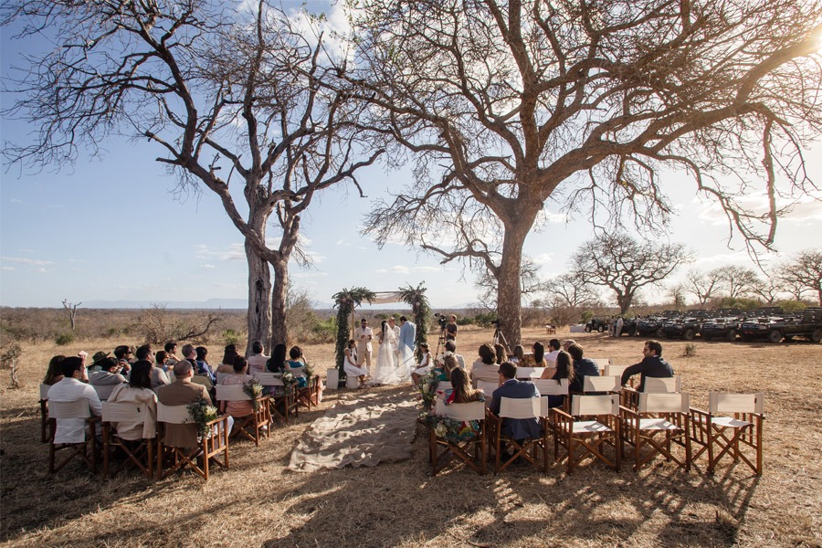 VALENTINA & OMAR: SAFARI WEDDING ceremonia-boda