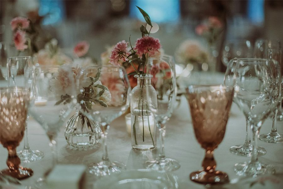 GERARD & YOLANDA: PENGUINS WEDDING deco-mesa-boda