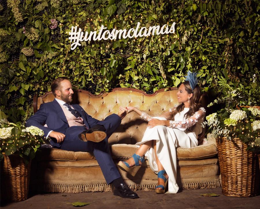 SARA Y JOSÉ CARLOS: #JUNTOSMOLAMAS fiesta-boda