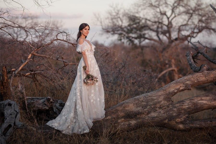 VALENTINA & OMAR: SAFARI WEDDING foto-novia