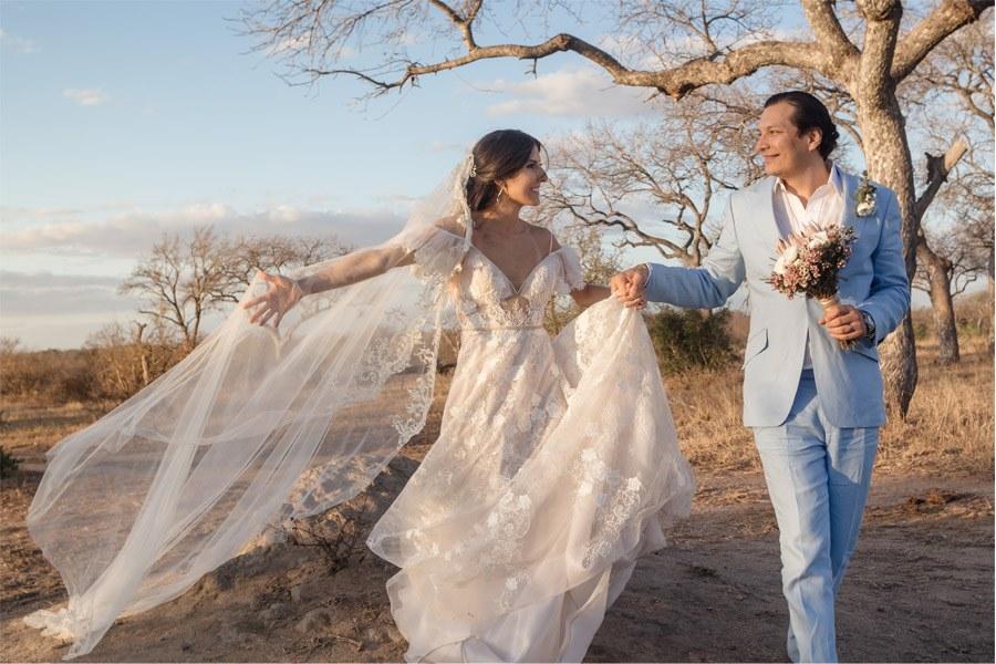 VALENTINA & OMAR: SAFARI WEDDING foto-novios