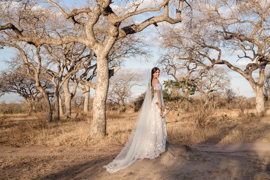 VALENTINA & OMAR: SAFARI WEDDING fotos-novia