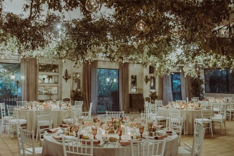 GERARD & YOLANDA: PENGUINS WEDDING mesas-boda