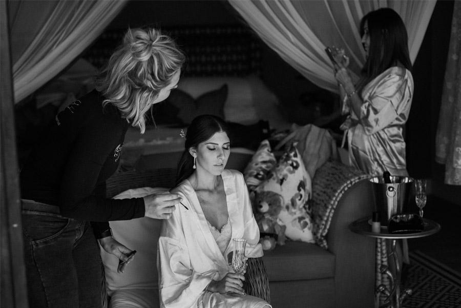 VALENTINA & OMAR: SAFARI WEDDING novia-belleza