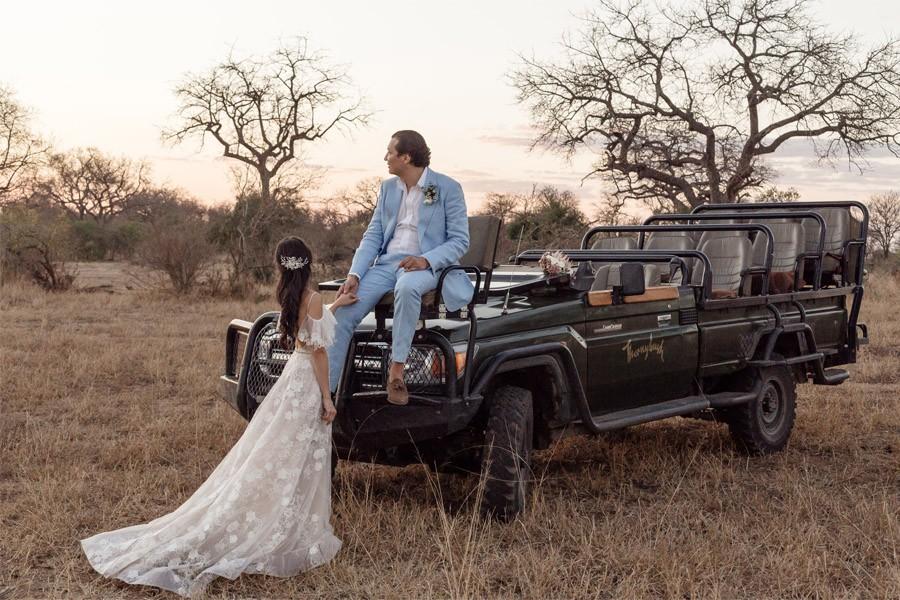 VALENTINA & OMAR: SAFARI WEDDING reportaje-novios-1