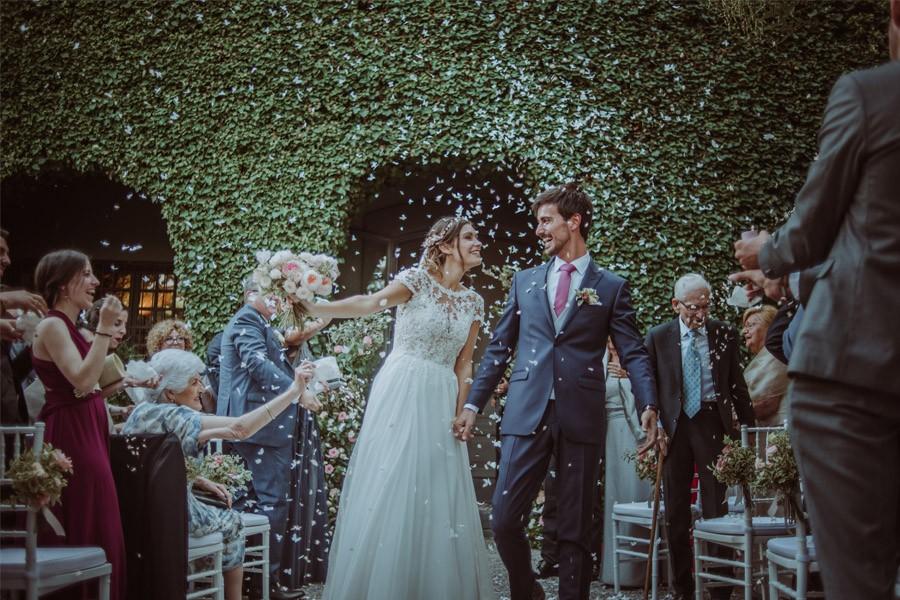 GERARD & YOLANDA: PENGUINS WEDDING salida-novios-1