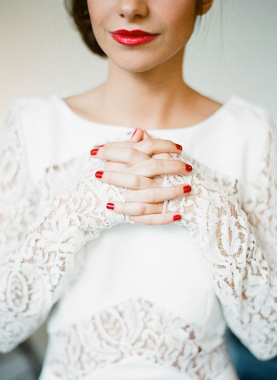 MANICURA PARA NOVIAS uñas-novia