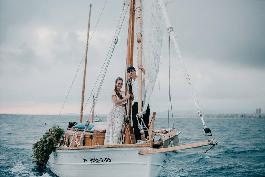 JUDIT Y ANGELO, VIAJE DE SENTIMIENTOS barca-viaje-novios