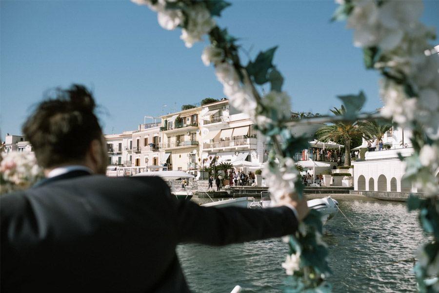 GEA & VALERIO: BODA EN NÁPOLES llegada-novios