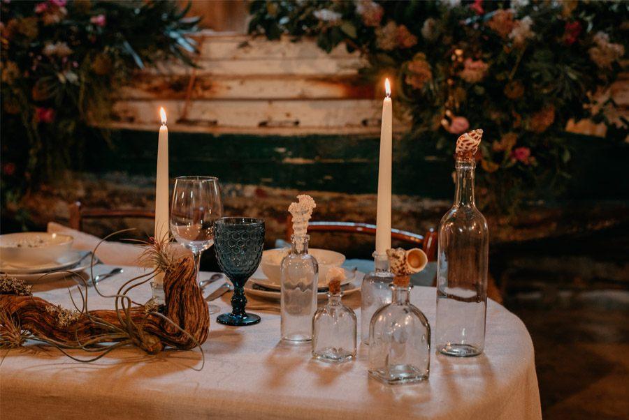 JUDIT Y ANGELO, VIAJE DE SENTIMIENTOS mesa-boda