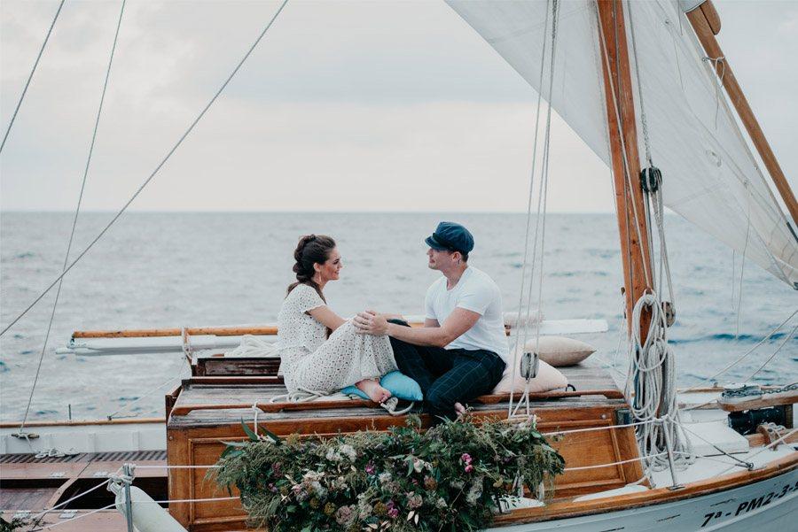 JUDIT Y ANGELO, VIAJE DE SENTIMIENTOS viaje-novios-barca