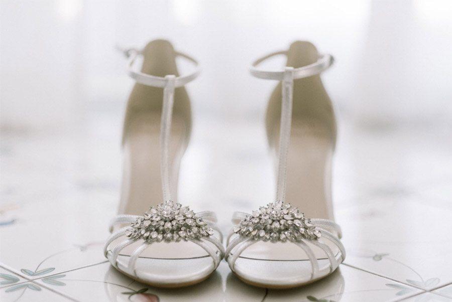 GEA & VALERIO: BODA EN NÁPOLES zapatos-novia