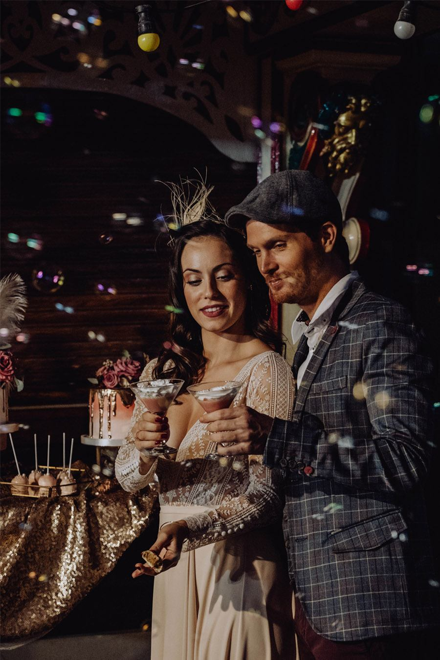 UNA MÁGICA BODA DE CIRCO boda-pompas