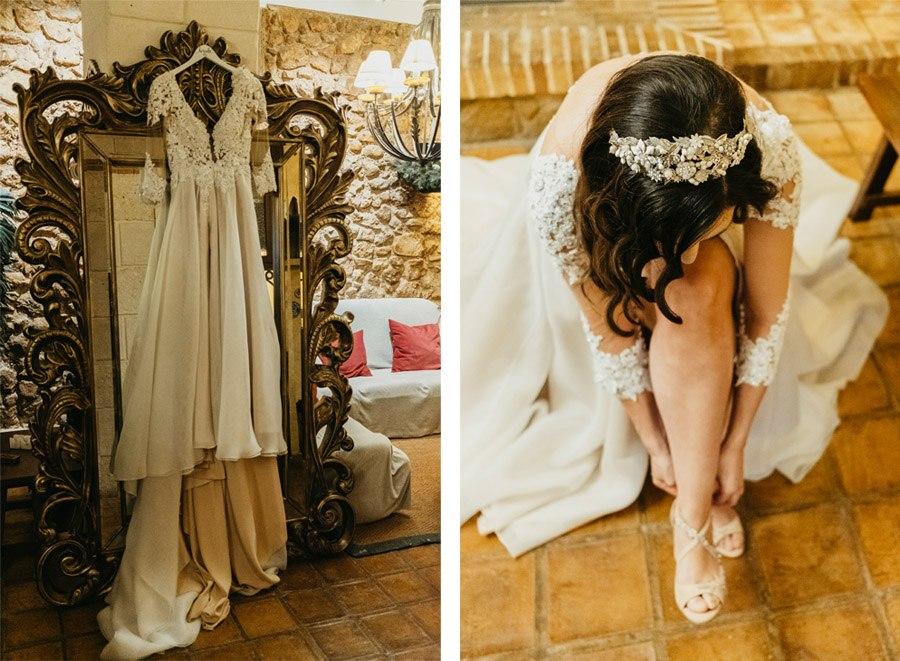 MARÍA & PABLO: EL DESTINO novia-vestido