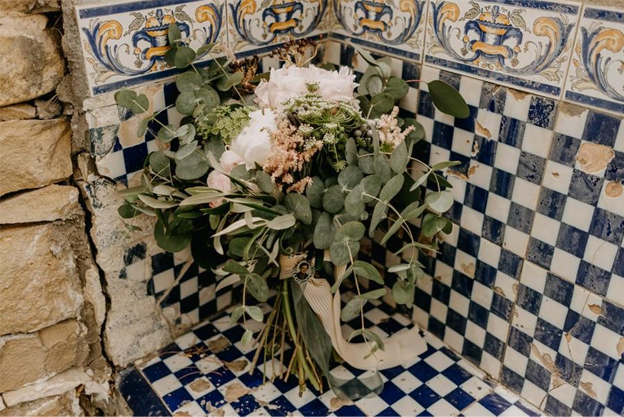 MARÍA & PABLO: EL DESTINO ramo-novia