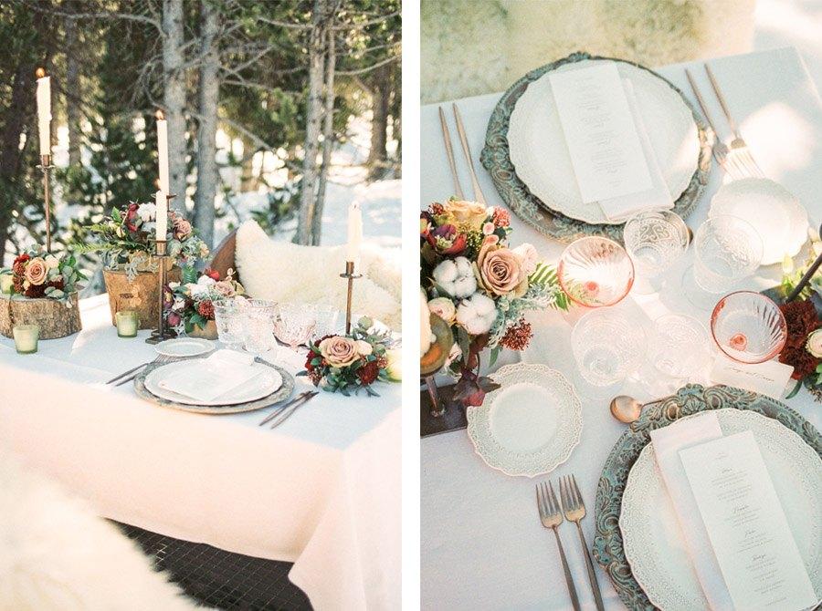 UNA ROMÁNTICA BODA DE INVIERNO boda-invierno-deco-mesa