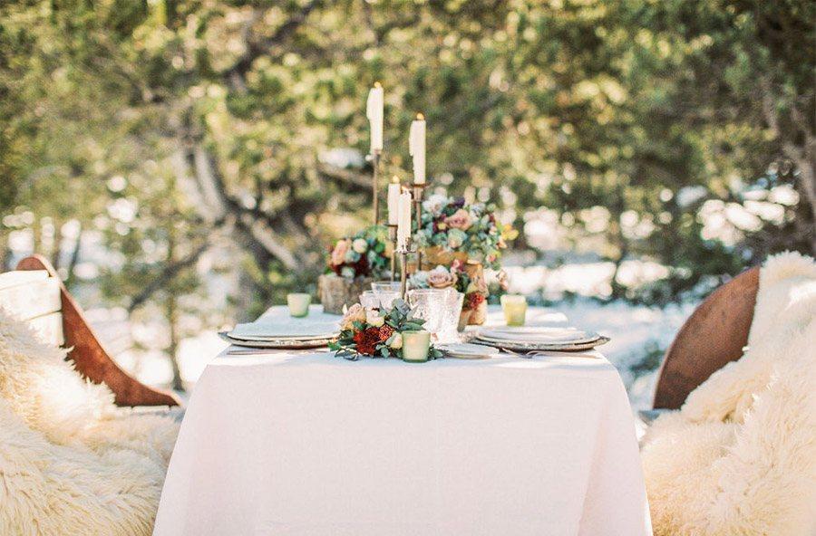 UNA ROMÁNTICA BODA DE INVIERNO boda-invierno-decoracion-mesa