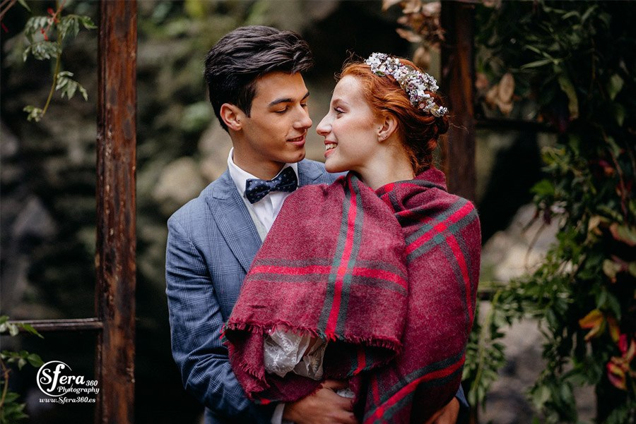 AMOR A ORILLAS DEL TOXA boda-invierno