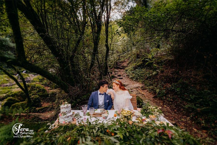 AMOR A ORILLAS DEL TOXA boda-mesa