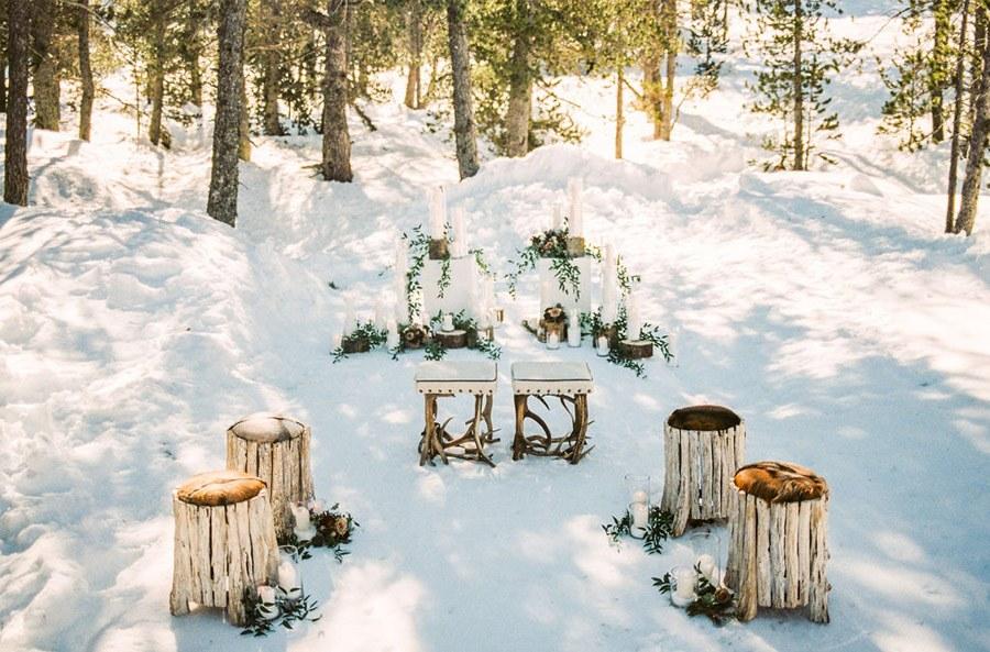UNA ROMÁNTICA BODA DE INVIERNO deco-boda-invierno