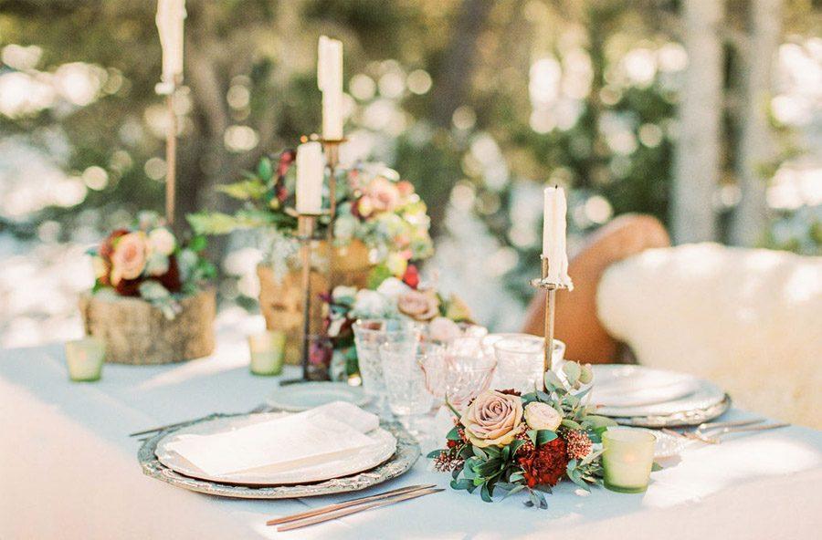UNA ROMÁNTICA BODA DE INVIERNO decoracion-mesa-boda-invierno