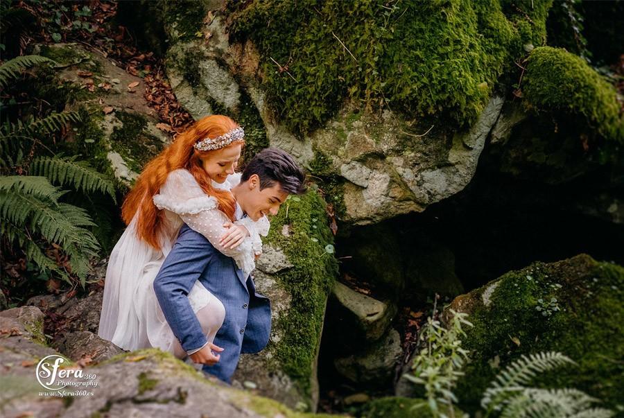 AMOR A ORILLAS DEL TOXA editorial-de-boda