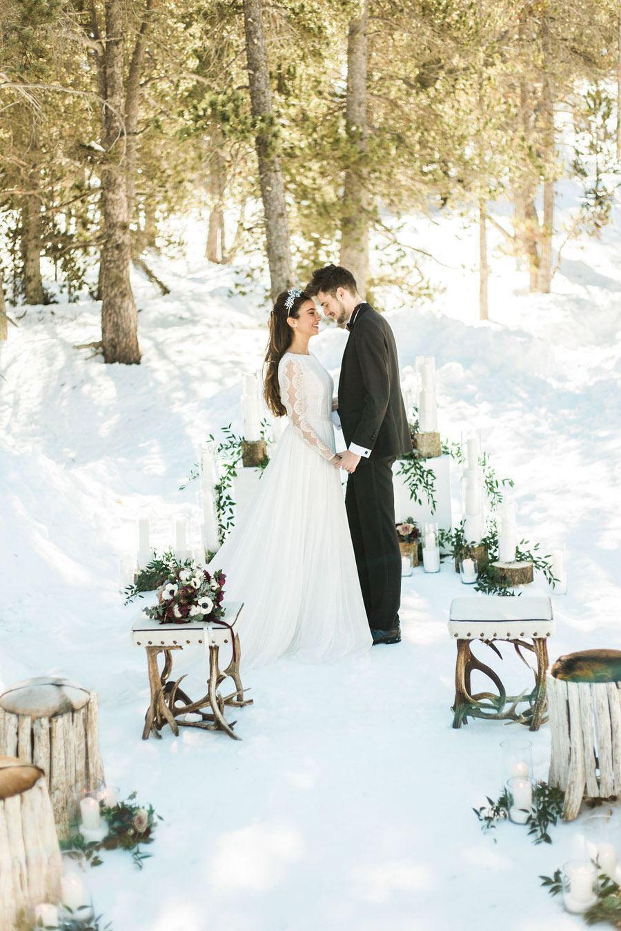 UNA ROMÁNTICA BODA DE INVIERNO grandvalira-boda-invierno