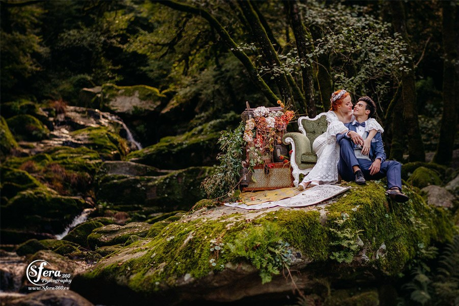 AMOR A ORILLAS DEL TOXA invierno-boda