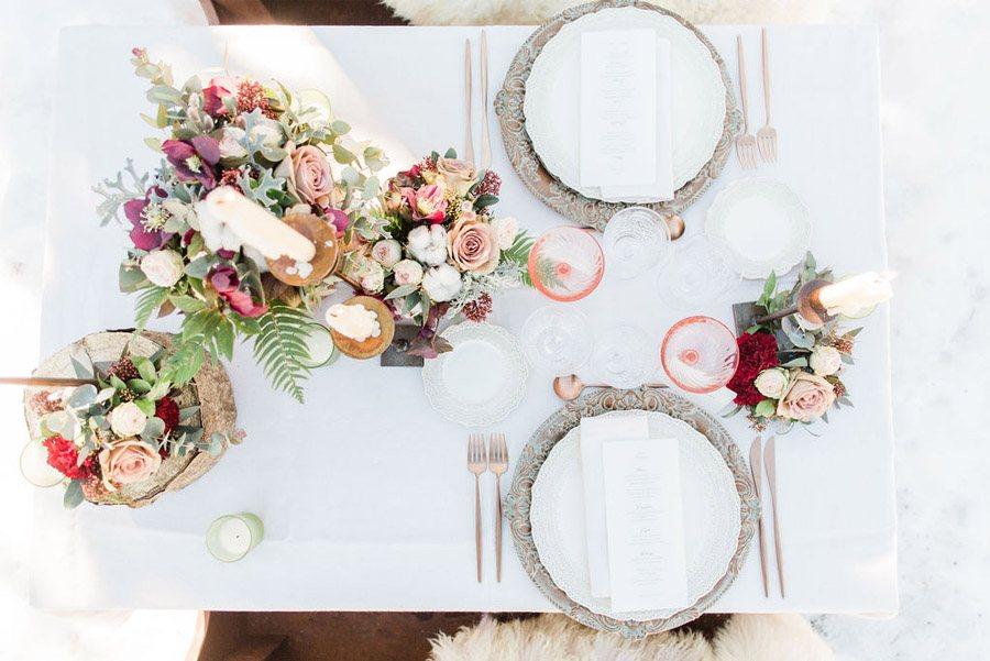 UNA ROMÁNTICA BODA DE INVIERNO mesa-boda-invierno