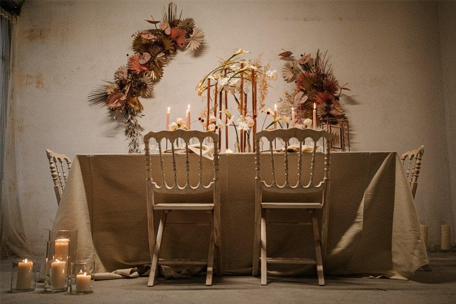 ALMA ROSE mesa-de-boda