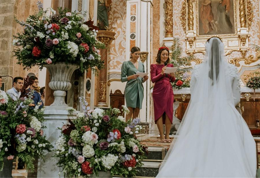 Mª CARMEN & DANI: UNA BODA LLENA DE LUZ damas-honor
