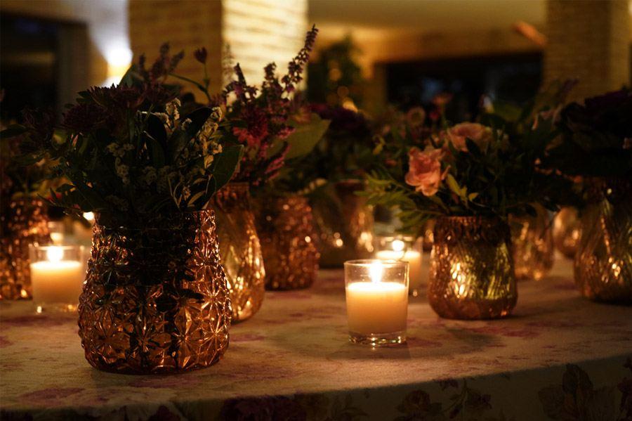 Mª CARMEN & DANI: UNA BODA LLENA DE LUZ deco-boda