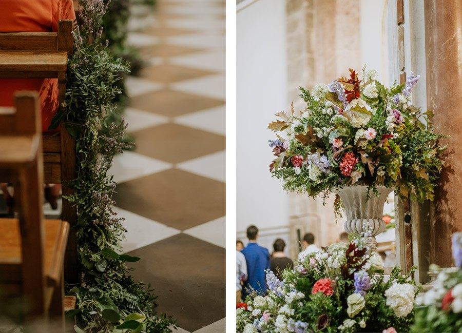 Mª CARMEN & DANI: UNA BODA LLENA DE LUZ deco-iglesia-boda