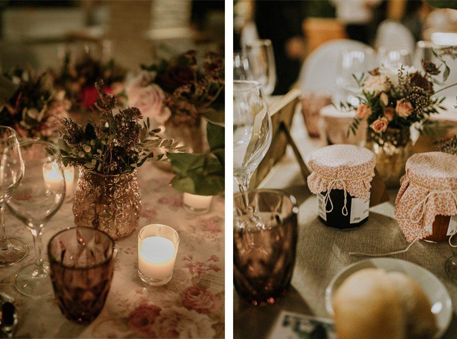 Mª CARMEN & DANI: UNA BODA LLENA DE LUZ deco-mesa-boda