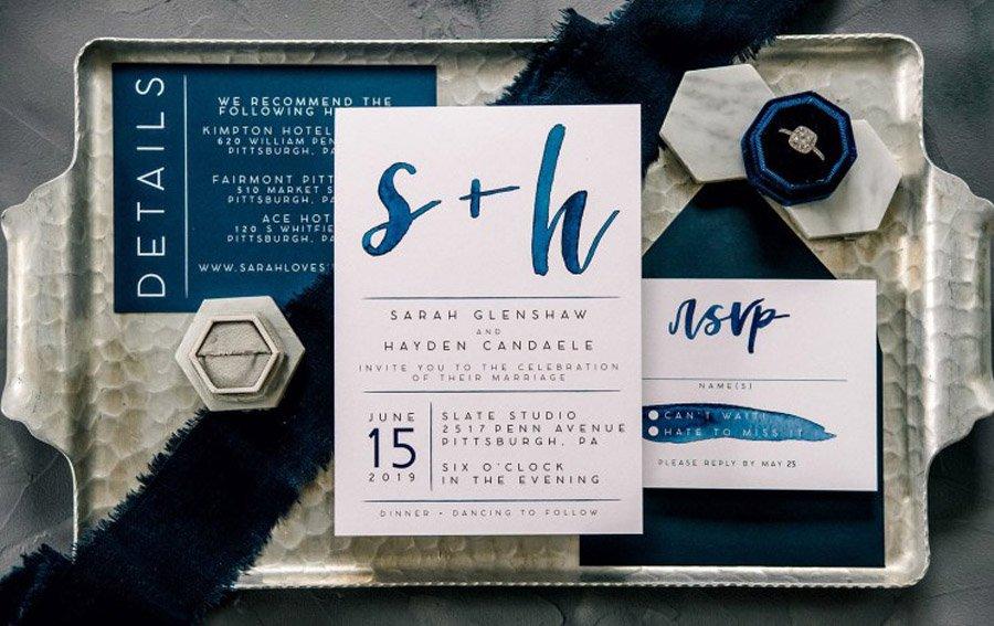 CLASSIC BLUE EN LAS BODAS DE 2020 invitaciones-classic-blue