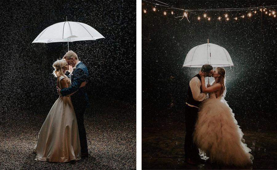 NOVIA MOJADA, NOVIA AFORTUNADA lluvia-boda